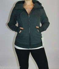 Lululemon Scuba Hoodie III size 4 Heathered Fuel Green NWT Forest Green Jacket