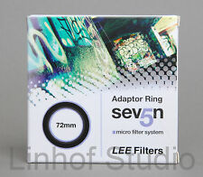 Lee Filters Sev5n/75/Seven5/RF75 Series Adapter Ring 72mm