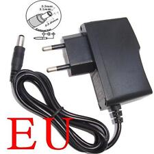 AC Converter Adapter DC 12V 500mA Power Supply Charger EU 5.5mm x 2.1mm 0.5A New