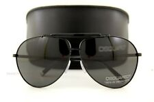 Brand New DSQUARED Sunglasses DQ 0082 01A BLACK/GRAY 100% Authentic