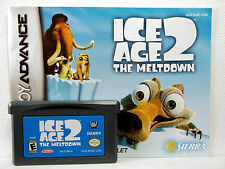 Ice Age 2: The Meltdown (GBA) Game & Manual - Clean,Tested & Fast Shipping