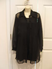 NWT frederick's of hollywood BLACK Prom/party Special Ocasion Dress & Coat 9/10