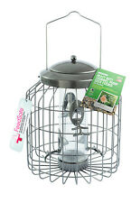GARDMAN HEAVY DUTY GUARD BIRD SEED FEEDER SQUIRREL PROOF GARDEN HANGING A01820