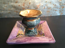 MacKenzie Child's Pottery Egg Cup Stand Retired and RARE 1998