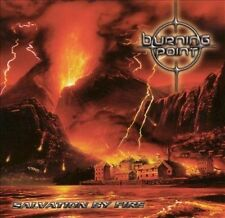 BURNING POINT Salvation By Fire CD: NOCTURNAL RITES, STRATOVARIUS, LOST HORIZON