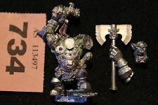 Games Workshop Warhammer Fantasy Grimgor Ironhide Black Orcs Warboss Metal OOP