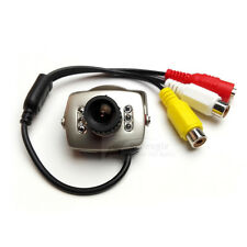 Mini CCTV 700TVL Wired Video Color Infrared CCTV Security Camera MIC 3.6mm Lens