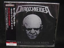 DIRKSCHNEIDER Live - Back To The Roots JAPAN 2CD U.D.O. Accept