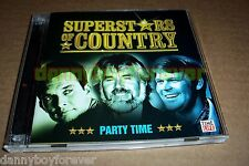 Superstars of Country Party Time 2 CD Set Time Life Music