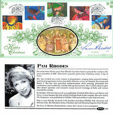 2 NOVEMBER 1998 CHRISTMAS BENHAM SIGNED PAM RHODES FIRST DAY COVER SHS
