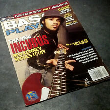 Bass Player Magazine (April 2004) Incubus Ben Kenney / John Mayer / Kinky