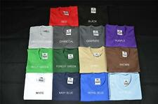 2 NEW PROCLUB 3XLT TALL HEAVY WEIGHT T-SHIRTS PLAIN TEE PRO CLUB COLOR BLANK 2PC