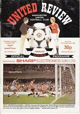 Man Manchester United v Ipswich Town 1982 / 83 Division 1 - 11th September