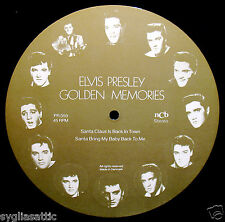 ELVIS PRESLEY-GOLDEN MEMORIES-IMPORT PICTURE DISC-ROCKABILLY-Santa Claus