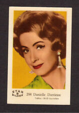 Danielle Darrieux Vintage Card from Sweden #B298