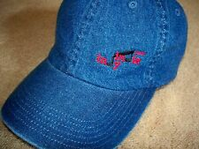 NEW~ INDY INDIE ~ARTIST COLONY & GALLERY~BALL CAP/HAT~.COM PROMO~A DENIM BEAUTY