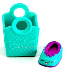 Shopkins Season 3 Super Shopper Pack Exclusive Teal Green Shoes - Anne w/ Bag