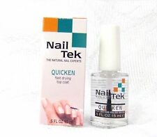 NailTek Nail Treatment QUICKEN Fast ,Quick Dry Top Coat .5oz/15ml