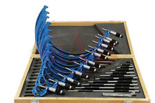 "0- 12"" MICROMETER SET .0001"" CARBIDE GROUND STANDARDS"