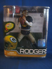 Aaron Rodgers McFarlane Series 29 Retro Variant Chase Silver /1000 NEW