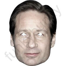 David Duchovny American Actor X-files. Card Face Mask. All Our Masks Are Pre-Cut