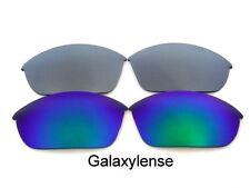 Galaxy Lentes De Repuesto Para Oakley Half Jacket 2.0 verde y titanio
