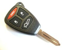 Replacement 3 + 1 button key case for Chrysler Dodge 300C remote key fob
