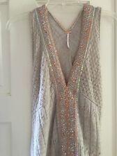 NWOT Free people sequin  dress Size s Short Orig $238