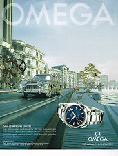 PUBLICITE ADVERTISING 014   2013   OMEGA  montre CO-AXIAL CHRONOMETER