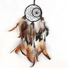 Creative Dream Catcher Wall Hanging Home Decoration Bead Ornament with Feathers