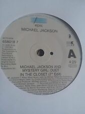 "Michael Jackson - In The Closet 7"" single VG"