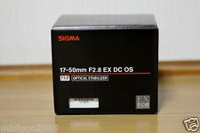 NEW Sigma 17-50mm F2.8 (17-50 mm F/2.8) EX DC OS HSM Zoom Lens for Nikon*Offer