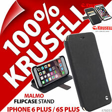Nuevo Krusell Malmo Abatible Estuche para Apple iPhone 6 Plus/6S Plus Cartera con Soporte Folio
