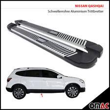 Schwellerrohre ALU Trittbretter Nissan Qashqai +2 2010 - 2014 Pyramid 183