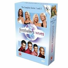 Footballers' Wives Series 1 2 Complete Box Set Gillian Taylforth NEW UK R2 DVD