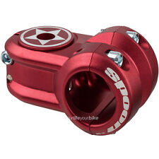 Spank Spoon 2 delantera de 170g 31,8 mm capuchón MTB downhill stem freeride Dirt Jump rojo