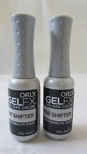 Orly GelFX Gel Nail Color Polish Changing Shade Shifter Top Coat Manicure 2 Pack