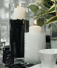 Black Water Storing Gel Beads for Floating Candle Decor