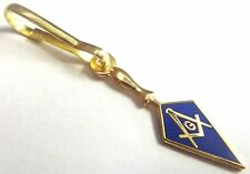 Trowel Square Compass Masonic Masonry Freemason Jacket Backpack ZIPPER PULL CLIP