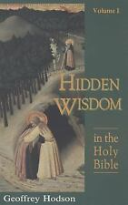 Hidden Wisdom in the Holy Bible, Vol. 1 Theosophical Heritage Classics