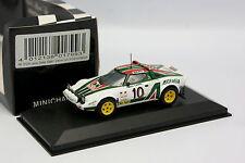 Minichamps 1/43 - Lancia Stratos Alitalia Winner Monte Carlo Rally 1975