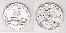 REPUBLIC GUINEA - SILVER 300 FRANCS UNC COIN 1988 YEAR KM#59 BARCELONA OLYMPIC