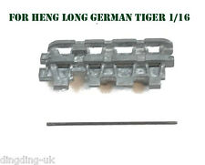 Heng Long German Tiger Tank Metal Track Caterpillar Links Segments UK