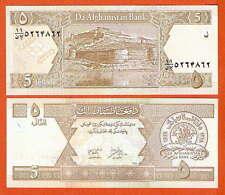 P66   Afganistan  5  Afganis  2002   UNC