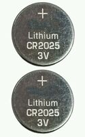 2 PCS CR2025 3V BATTERY LITHIUM BUTTON CELL BATTERIES NEW