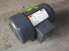 NEW 1 HP General Purpose Motor 3-Phase 1755 Nameplate RPM 3N017 (WH/13S)