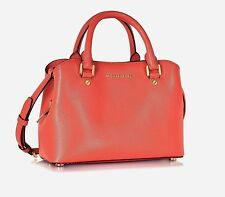 MICHAEL KORS LEDERTASCHE/BAG SAVANNAH SM Satchel pink grapefruit
