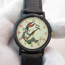 "BUGS BUNNY, Retro Dial, MEN's/Kid's CHARACTER WATCH, ""Rare"" C@@L!!  2036"