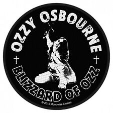 Ozzy Osbourne Blizzard Of Ozz Patch Official Heavy Metal Rock Band Merch New