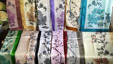 Joblot 24 pcs Faux silk scarf scarves NEW wholesale 55x160 cm Lot 16